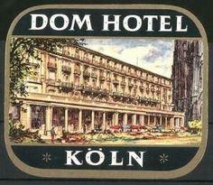 Köln, Dom Hotel, Hotelgebäude neben Kölner Dom Luggage Stickers, Back In The Day, Dom, Broadway Shows, Places, Lugares