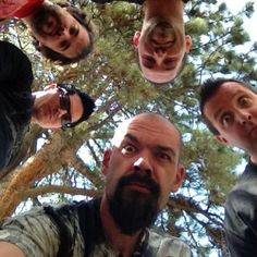Ghost Adventures: Zak, Aaron, Nick, Billy and Jay.