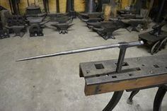 Photo by Blacksmith Barn Blacksmith Tools, Vintage Tools, Sheet Metal, Blacksmithing, Wrought Iron, Crafty, Studio, Antiques, Blacksmith Shop