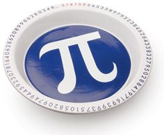 The Perfect Pi Dish, get it ?! I bet tirzah does lol