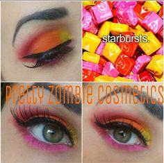 Starburst Makeup look