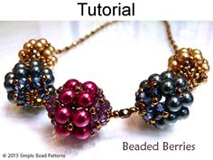 Beaded Beads Beading Pattern Bead Jewelry by SimpleBeadPatterns
