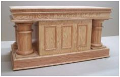 "Communion Table 3602 60""L x 32""H x 30""W"
