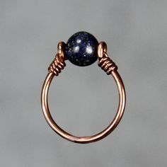 Copper ring Birthstone ring Adjustable ring Bridesmaid gift Gift for her Handmade jewelry Personalized jewelry Free US Shipping Wire Jewelry Rings, Handmade Wire Jewelry, Wire Jewelry Designs, Wire Jewelry Making, Copper Jewelry, Wire Bracelets, Beaded Rings, Wire Earrings, Jewlery