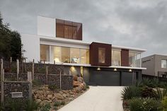 Making the Most of a Slope: Nevair Court, Highton, by JAM Architects