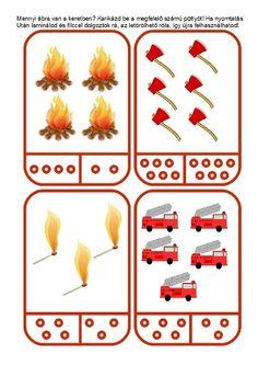 Fire Safety For Kids, Fire Safety Tips, Fire Safety Week, Preschool Classroom Decor, Preschool Themes, Preschool Activities, Human Body Activities, Pre K Activities, Community Helpers Preschool