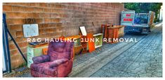 Trash Removal, Waste Removal, Junk Removal, Junk Hauling, Removal Services, Furniture Removal, Appliance, Home Improvement, How To Remove