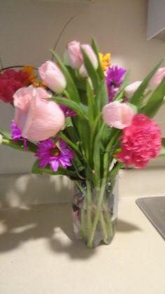 Flowers I got near Easter