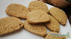 White Chocolate Dipped Meyer Lemon and Almond Biscotti Diabetic Recipes, Diet Recipes, Cooking Recipes, Chocolate Dipped, White Chocolate, Biscotti, Almond, Sweets, Bread