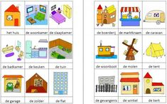Dutch Language, Kids House, Building A House, Kindergarten, Homeschool, Teaching, Activities, Holiday Decor, Google