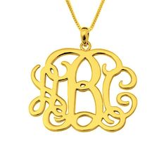 Wholesale  Personalized  Monogram necklace by lovehandmadeanything, $16.99