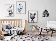 Greenhouse Interiors is a leading authority on interiors styling, plus curates the best boutique designer brands to shop online for art, homewares & textiles. Bright Nursery, Nursery Modern, Nursery Neutral, Pastel Nursery, Cot Sets, Nursery Decor, Room Decor, Chic Nursery, Nursery Prints