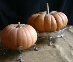 Take A Stand When It Comes To Pumpkins | Family Chic by Camilla Fabbri ©2009-2012. All rights reserved. The blog