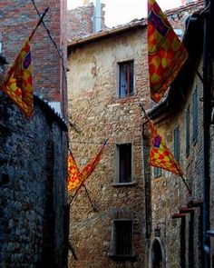 | ? | Medieval town Montepulciano, Tuscany | by © Brent...