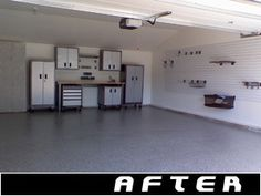 Garage Remodel Before And After Photos Of Garages