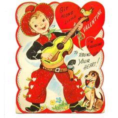 1950+valentine+cards+|+1950s+Valentine+Card