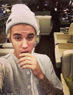 So it isn't yours after all?: Justin Bieber posted snaps of a brand new jet on Christmas, ...