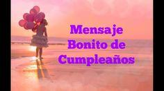 Mensaje bonito de cumpleaños para dedicar a una amiga muy especial Cute Relationship Goals, Cute Relationships, I Love U Mom, Happy Birthday Wishes, Kids Health, Loving U, Birthdays, Youtube, Messages