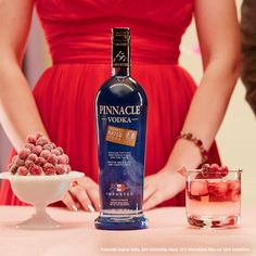 It's a candlelight vodka at a fluorescent light price. Add something special to date night with Pinnacle® Vodka. 