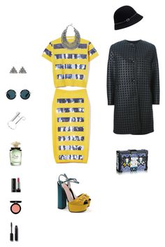"""Amelia."" by srtagraham ❤ liked on Polyvore featuring Marc Jacobs, Gucci, Chico's, Lulu Frost, Armani Collezioni, Forever New, By Malene Birger, Yohji Yamamoto, Armani Beauty and Chanel"