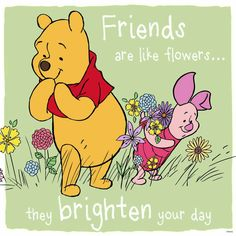 Winnie The Pooh and Piglet Winne The Pooh, Cute Winnie The Pooh, Winnie The Pooh Quotes, Winnie The Pooh Friends, Eeyore Quotes, Winnie The Pooh Pictures, Snoopy, Friends Are Like, Pooh Bear