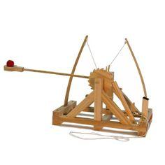 Leonardo da Vinci Catapult Kit - NerdPlaythings.com | Toys and Gifts That Make Your Brain Smarter
