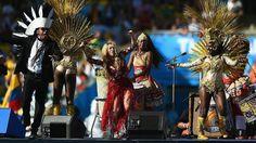 Shakira estrela show na cerimônia de encerramento da Copa-2014 - 4 (© Getty)