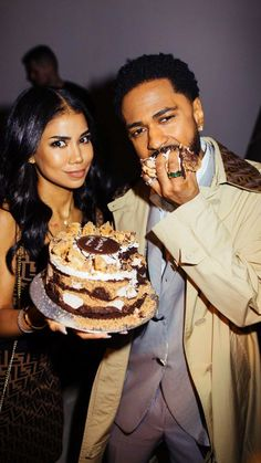 Big Sean Jhené ✨ Jhené Aiko and Big Sean birthday at Fendi Black Couples Goals, Couple Goals, Cute Couples, Matching Couples, Big Sean And Jhene, Jhene Aiko, Relationship Goals Pictures, Instagram Influencer, Sam And Cat