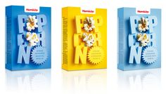 Popcorn packaging for Swrdish grocery chain Hemköp | Designer: Kostym - http://www.kostym.se