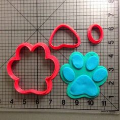 Blue's Clues Paw Cookie Cutter Set