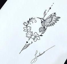 Available design 📍Lovely hummingbird ✨ свободный эскиз 🖊 . Tattoo Drawings, Body Art Tattoos, New Tattoos, Cool Tattoos, Tatoos, Cute Tiny Tattoos, Beautiful Tattoos, Small Tattoos, Shoulder Tattoos For Women