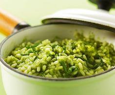 Bärlauch-Risotto - Rezept - Saisonküche  Tip: mit ziegenfrischkäse servieren
