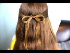 Loop Waterfall Braid | Cute Hairstyles - YouTube