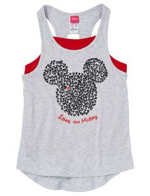 Minnie Mouse Singlet with Mickey Print product photo