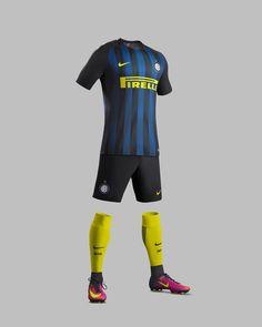 Camisas da Inter de Milao 2016-2017 Nike Titular kit