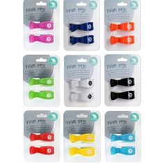 All4Ella - 2 Pack Pram Pegs - Various Colours Pram Pegs are a great way to keep the muslin attached to the pram, protecting your little one when out and about. 2 Pack colours available: Red, Green, Blue, Pink, White, Black, Navy, Purple (each sold separately) Also available 4 pack pegs (2 different colours) and Muslin wrap & peg gift boxes #All4ella #alltotstreasures #prampegs