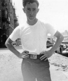 young Woody Allen.