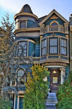 San Francisco Victorian Photograph by Paul Owen