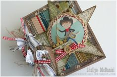 LOVE this mini using the Sasparilla line, made by Shellye @ The Papered Cottage!!!