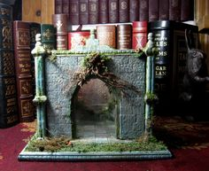 Twelfth Night Medieval Folly For Miniature Display, Vignette or Diorama Set in Half  and Quarter Scale