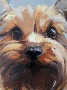 Custom pet portrait Yorkshire Terrier art dog oil painting collectible memorial animal pet loss gift puppy wall decor original from photo Yorkshire Terrier, Animal Art Projects, Pet Loss Gifts, Animal Heads, Watercolor Animals, Dog Portraits, Animal Paintings, Dog Art, Labrador Puppies