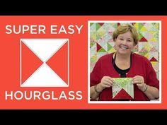 Jenny's Super Easy Hourglass Quilt | Missouri Star Quilt Company - YouTube | Bloglovin'