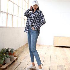 #envylook Raw Hem Washed Slim Jeans #koreanfashion #koreanstyle #kfashion #kstyle #stylish #fashionista #fashioninspo #fashioninspiration #inspirations #ootd #streetfashion #streetstyle #fashion #trend #style