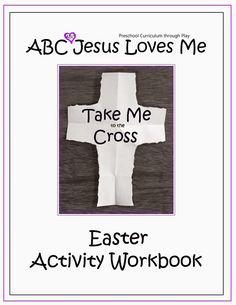 A seven day countdown Easter Activity Workbook with the purpose of pointing children to the cross and understanding the salvation that comes from it.