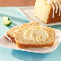 LIME-COCONUT BREAD. Lets try this.   [Help us fight hunger in partnership with Feeding America when you pin or re-pin Land O'Lakes recipes. Learn more at www.landolakes.com/FeedingAmerica]