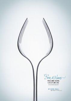 Publicidad Cartel McLaren. Original y simple. #DiseñoGráfico