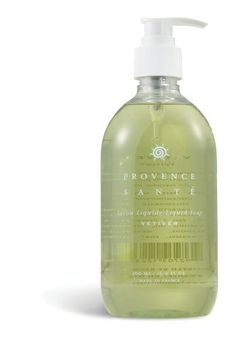 Provence Sante PS Liquid Soap Vetiver, 16.9oz Bottle by Provence Sante. $16.00. 16.9 oz Pump Bottle. The aromatic, woodsy vetiver fragrance, with notes of pine, cedar, and rosemary, is popular with both men and women.. Provence Sante's bestselling liquid soaps are pH-balanced, enriched with moisturizing and nourishing sweet almond oil, and come in an easy-pump bottle that's ideal for kitchen or bath.. PS Liquid Soap Vetiver 16.9oz