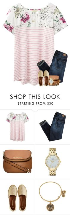 """""""At Universal! """" by your-daily-prep ❤ liked on Polyvore featuring Joules, American Eagle Outfitters, Michael Kors, Kate Spade, Kaanas, Alex and Ani and Kendra Scott"""