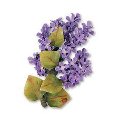 Sizzix - Susans Garden Collection - Thinlits Die - Flower, Lilac