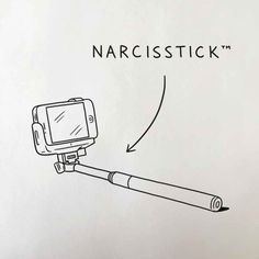 Matt Blease. [I love selfie sticks, though. How else can one travel solo and get fabulous pictures without bothering other people to take them for you? Or, horrors, without someone running away with your camera phone instead?]